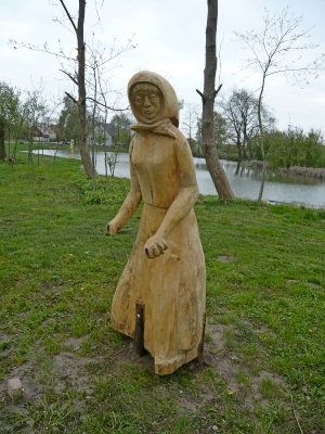 Skulptur am See